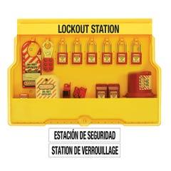 Master Lock Padlock Stations - Lock Station Case Electrical