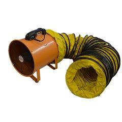 Amplec Extractor Fan 520W 300mm C/W 5 Metre Duct