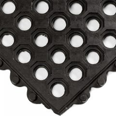 Rubber Matting 24/Seven with Holes Natural