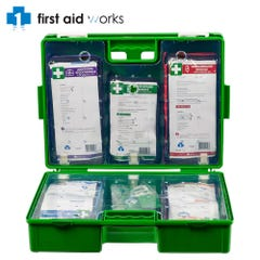 Vision Safe Modular Hard Case/Wall Mountable Toolbox First Aid Kit