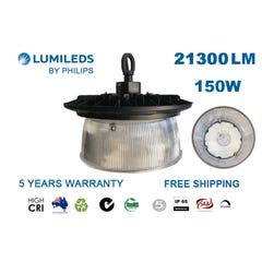Lumileds Philips High Bay Light With Reflector Anti-Glare Option 150W
