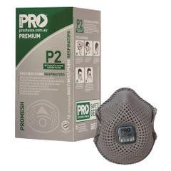 Pro Choice Dust Masks Promesh P2+Valve+Carbon (Qty x 12)