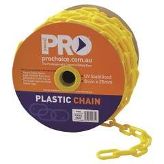 Pro Choice Plastic Yellow Chain 8mm