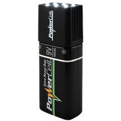 Powercell Blocklite 9V LED Torch Inc