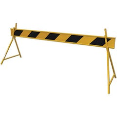 Spill Crew Barrier Boards PVC- Yellow Black 2500mm