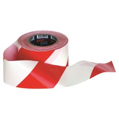 Pro Choice Barricade Tape - 100m x 75mm Red & White