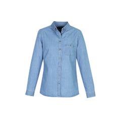 Biz Collection Indie Ladies Long Sleeve Shirt - Blue