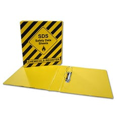 Spill Crew Safety Data Sheet Binder