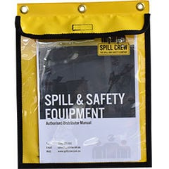 Spill Crew Document Storage Pouch Clear