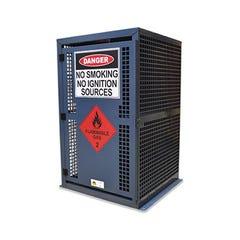 Spill Crew Gas Cylinder Cage 9kg Lpg – 8x Bbq Bottles