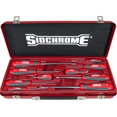 Sidchrome 10 Piece Ergonomic Screwdriver Set