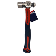 Spear & Jackson Ball Pein Hammer Fibreglass Handle 24oz/680g