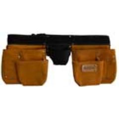 Spear & Jackson Builders Apron 11 Pocket Premium Split Leather