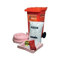 Spill Crew Spill Kit – Hazchem 120l Wheelie Bin