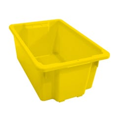Richmond 52L Stack & Nest Crate Yellow
