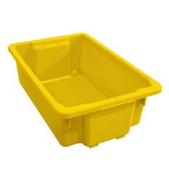 Richmond 32L Stack & Nest Crate Yellow