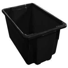 Richmond 68L Recyclable Crate Black