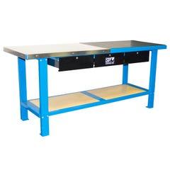 SP Tools Work Bench Custom 3 Drawer Bom 2000mm