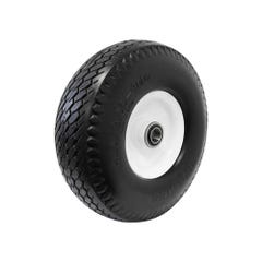 """Easyroll Puncture Proof Wheel Steel Centred 3.50 x 4"""", 125kg Load Capacity"""