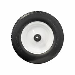 """Easyroll Puncture Proof Wheel Steel Centred 4.00 x 8"""" 200Kg Load Capacity"""