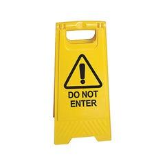 Spill Crew A-frame floor sign Do Not Enter