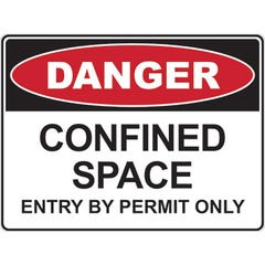 Spill Crew Danger Confined Space Entry By Permit Only