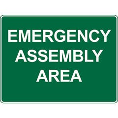 Spill Crew Emergency Assembly Area