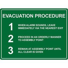 Spill Crew Evacuation Prodedure
