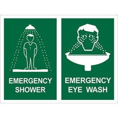 Spill Crew Emergency Shower & Emergency Eye Wash