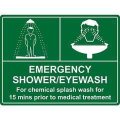 Spill Crew Emergency Shower Emergency Eye Wash