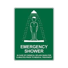Spill Crew Emergency Shower