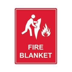 Spill Crew Fire Blanket