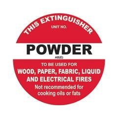 Spill Crew This Extinguisher Powder AB(E)