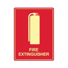 Spill Crew Fire Extinguisher Luminous