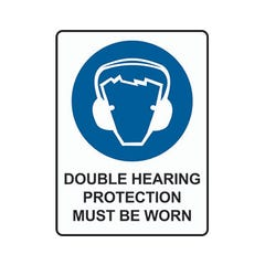 Spill Crew Double Hearing Protection Must Be Worn