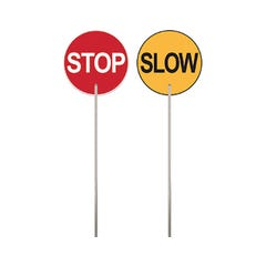 Spill Crew Traffic Paddle Cl1  Stop Slow, Metal CL1 600mm