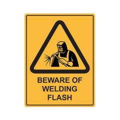Spill Crew Beware Of Welding Flash