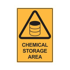 Spill Crew Chemical Storage Area
