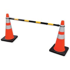 Spill Crew Safety Cone Bar 1.2m x 2.1m Black / Yellow