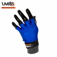 Uveto Sun Safe Gloves - Blue