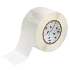 """Brady Glossy Polyester with Rubber Adhesive Labels 2""""x 3"""""""