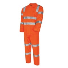 Tru Workwear VIC Rail Compliant - Rain Set In Bag - Orange