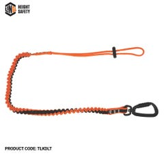 LINQ Tool Lanyard With Double Action Karabiner To Loop Tail