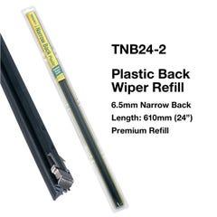 Tridon Plastic Back Wiper Refills 6.5 x 610mm