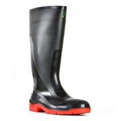 Bata Utility 400mm Safety - Black/Red