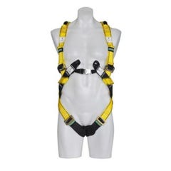 MSA Workman Crossover Harness, Stainless Steel, Large