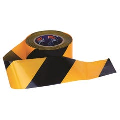 Pro Choice Barricade Tape - 100mm x 75m Yellow / Black