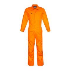 Syzmik Mens Leightweight Cotton Drill Overall - Orange