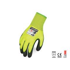 Force 360 Glove Cut 5 PU Hi Vis