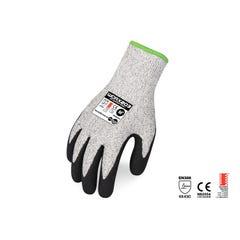 Force 360 Glove Cut 5 Sand Nitrile